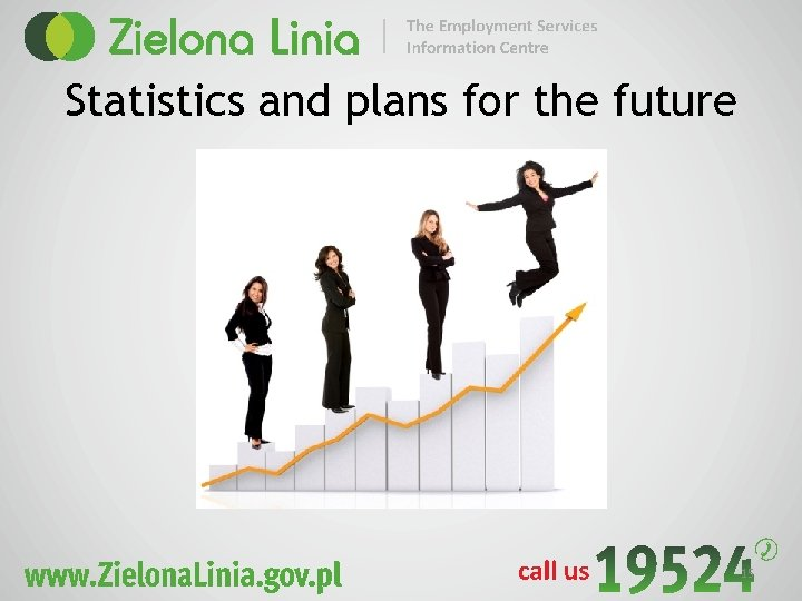 Statistics and plans for the future 15