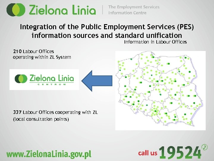 Integration of the Public Employment Services (PES) information sources and standard unification Information in