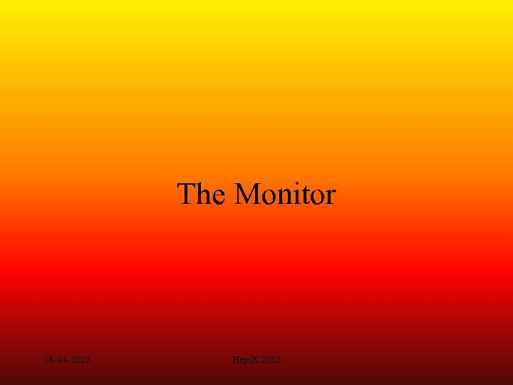 The Monitor 18 -04 -2002 Hepi. X 2002