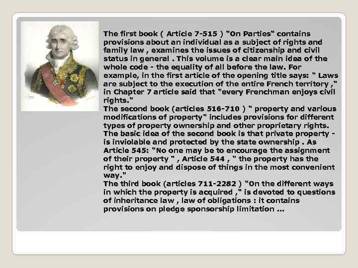 The first book ( Article 7 -515 )