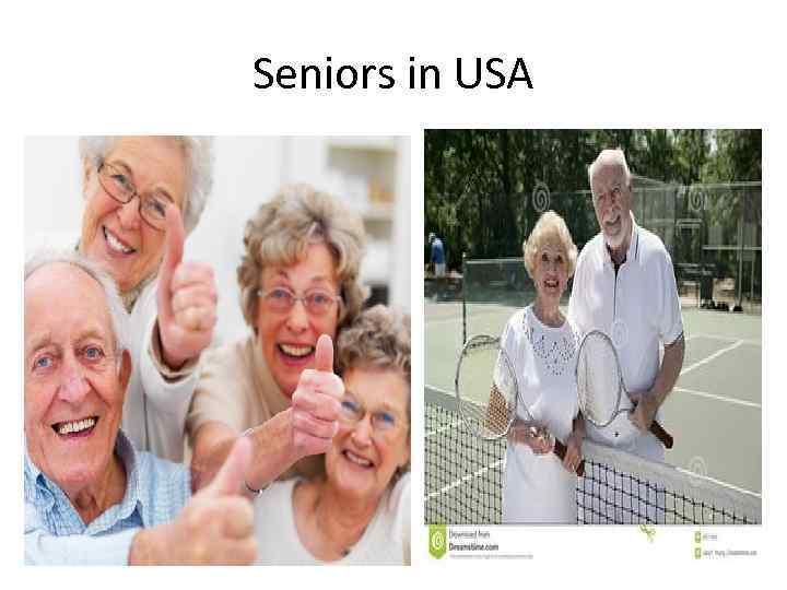 Seniors in USA