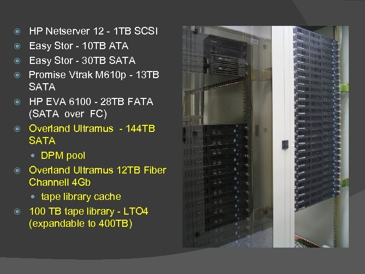 HP Netserver 12 - 1 TB SCSI Easy Stor - 10 TB ATA