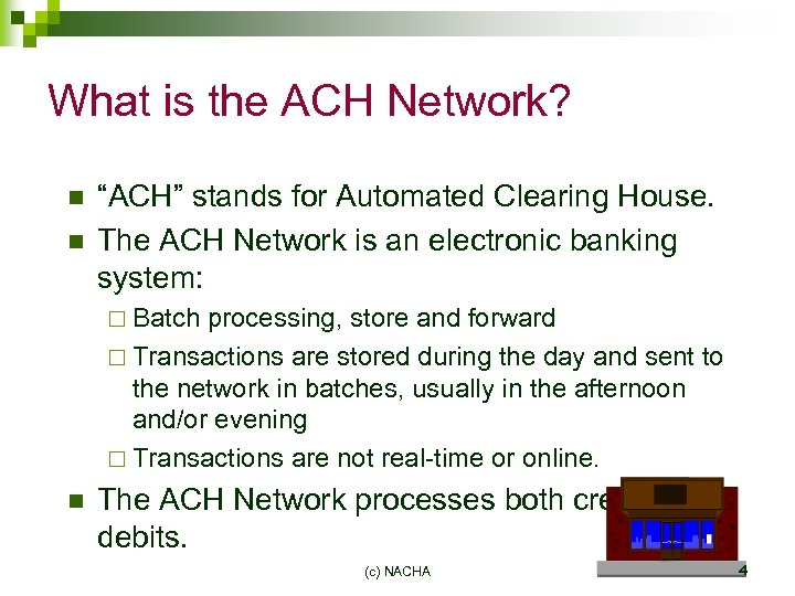 NACHA Online Payment Initiatives Joint Payment Center Conference