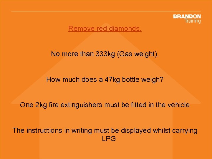 Remove red diamonds. No more than 333 kg (Gas weight). How much does a
