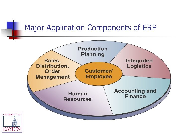 Major Application Components of ERP