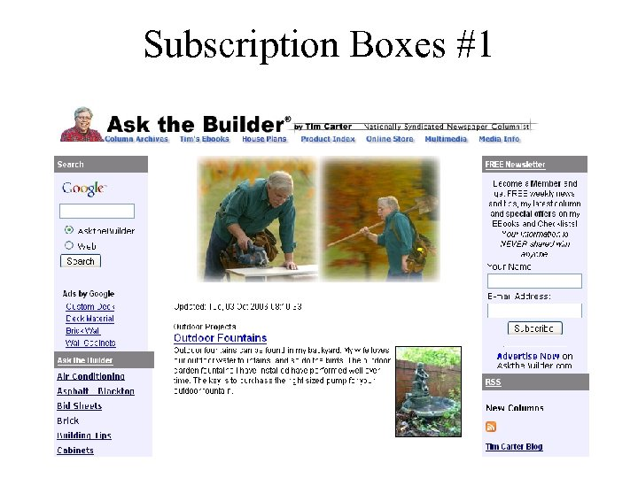 Subscription Boxes #1