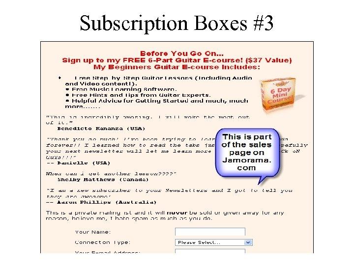 Subscription Boxes #3