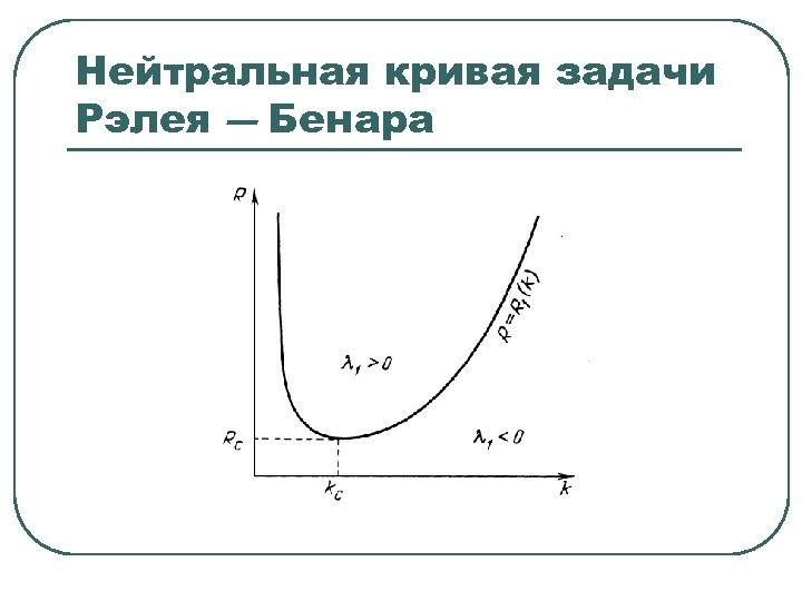 Нейтральная кривая задачи Рэлея ― Бенара