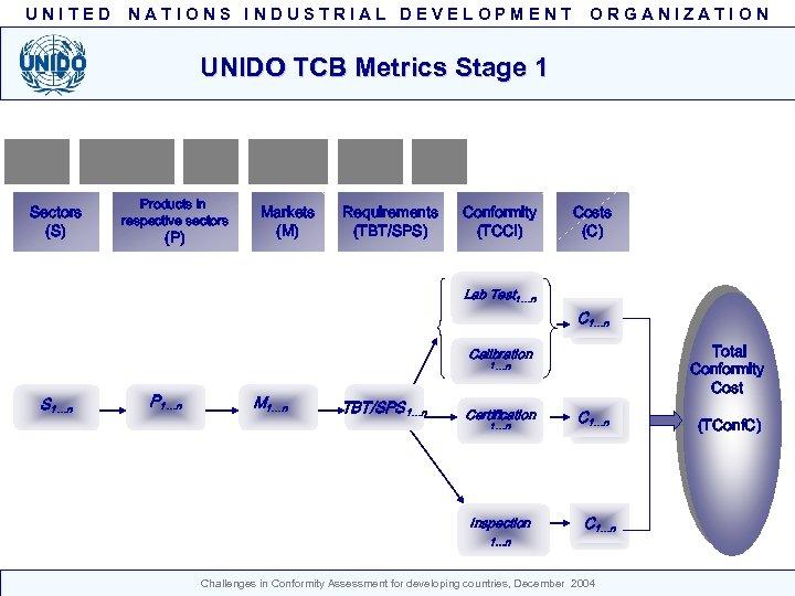 UNITED NATIONS INDUSTRIAL DEVELOPMENT ORGANIZATION Challenges in