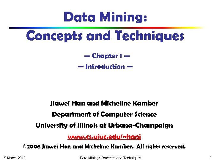 Data Mining Han Kamber Ebook