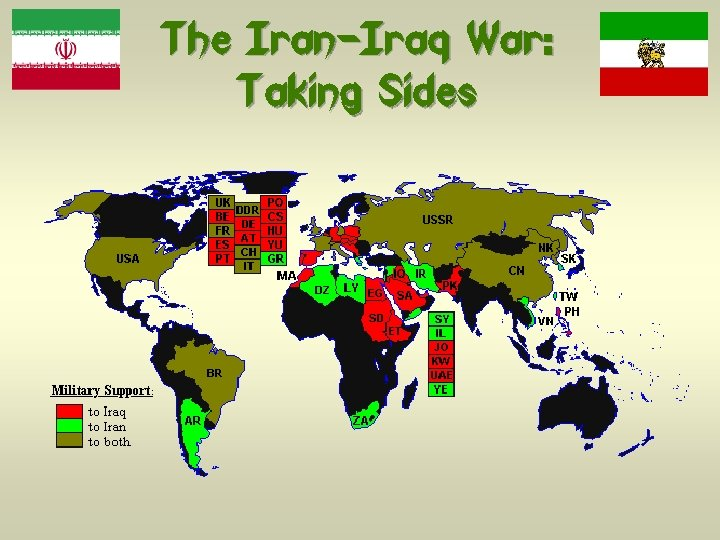 The Iran-Iraq War: Taking Sides