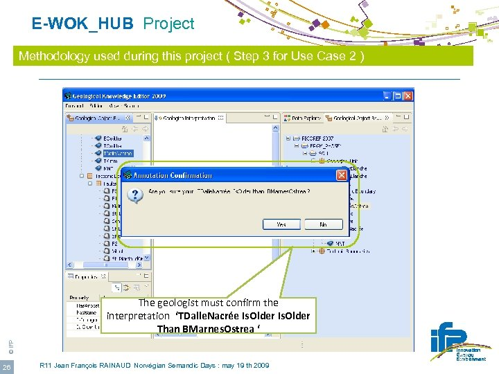E-WOK_HUB Project Methodology used during this project ( Step 3 for Use Case