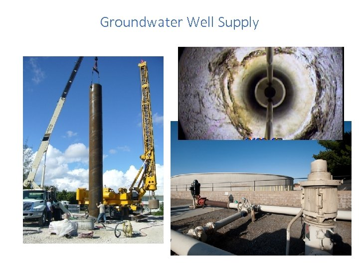 Groundwater Well Supply