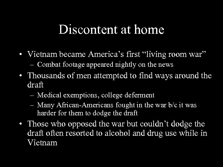"""Discontent at home • Vietnam became America's first """"living room war"""" – Combat footage"""