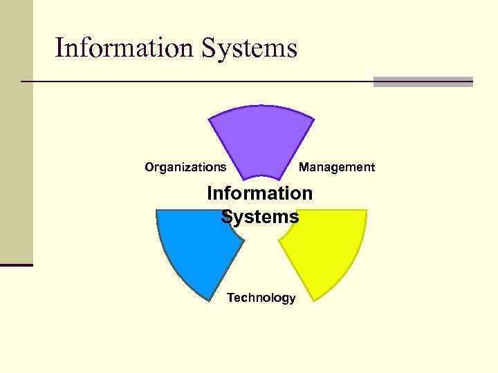 Information Systems Organizations Management Information Systems Technology