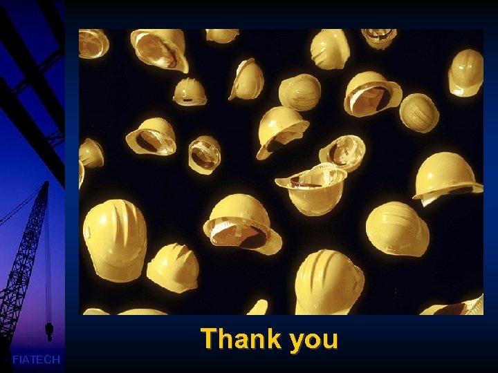 FIATECH Thank you