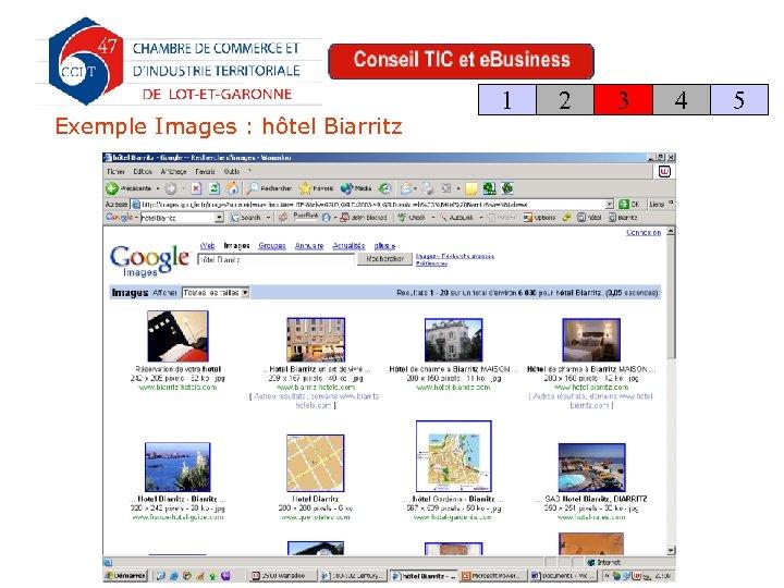 Exemple Images : hôtel Biarritz 1 2 3 4 5