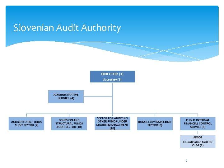 Slovenian Audit Authority 3