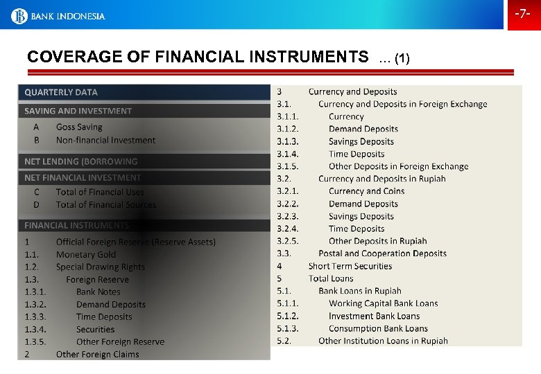 -7 - COVERAGE OF FINANCIAL INSTRUMENTS … (1)