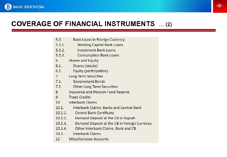 -8 - COVERAGE OF FINANCIAL INSTRUMENTS … (2)