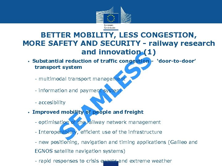 BETTER MOBILITY, LESS CONGESTION, MORE SAFETY AND SECURITY - railway research and innovation (1)