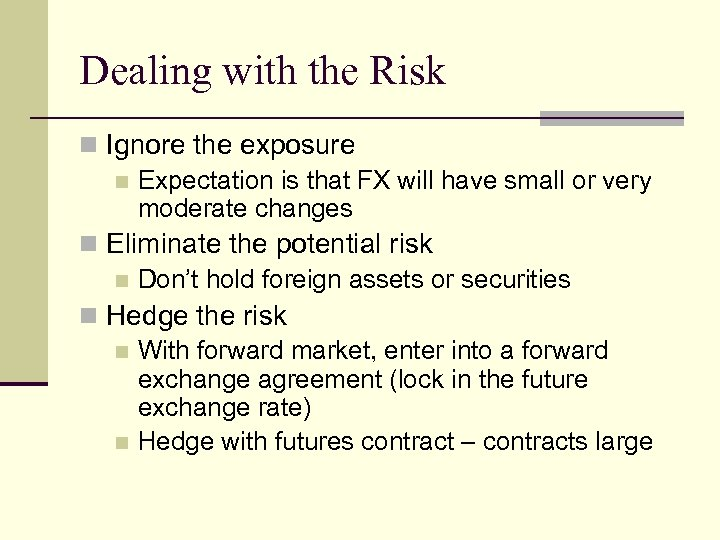 Currency Futures Professor Brooks Ba 444 02 12 08