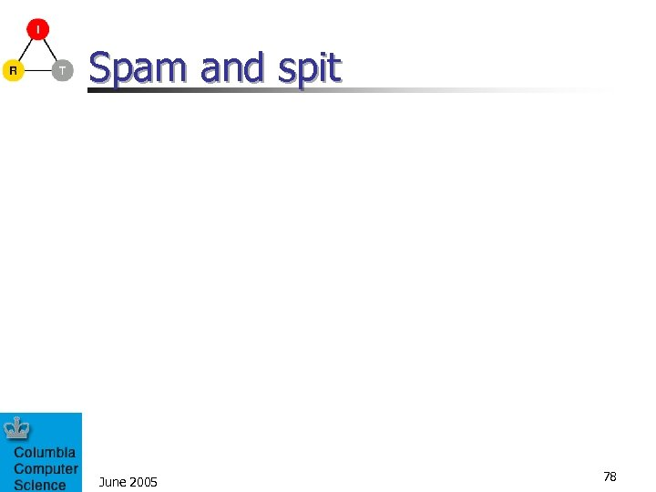 Spam and spit June 2005 78