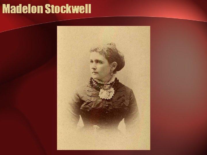 Madelon Stockwell