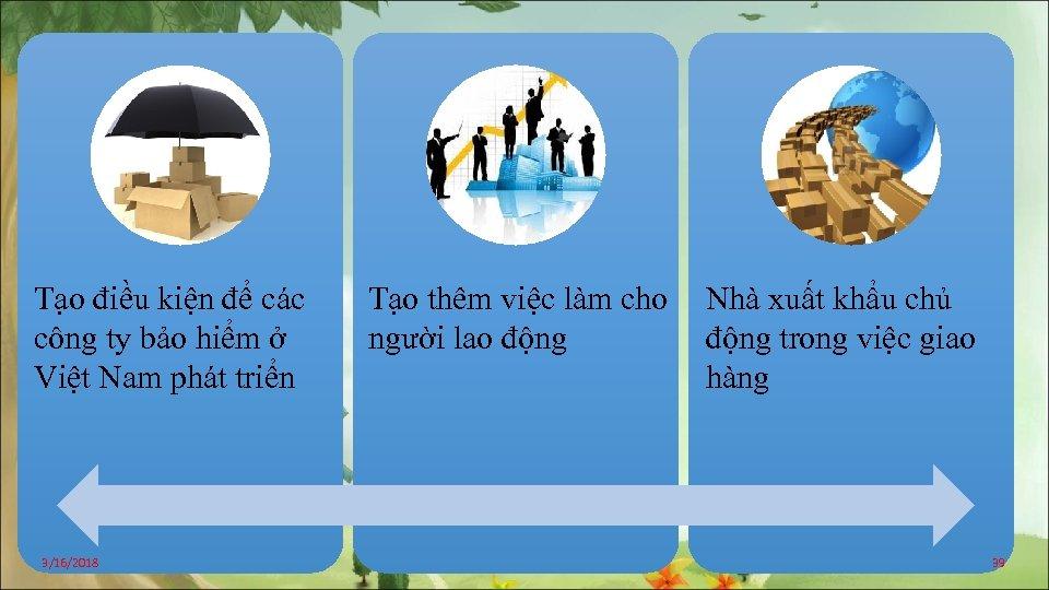 Tạo điều kiện để các công ty bảo hiểm ở Việt Nam phát triển
