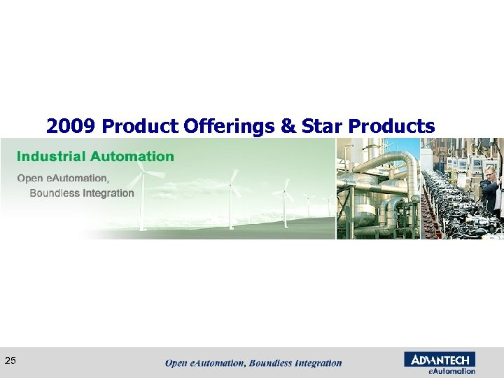 2009 Product Offerings & Star Products 25