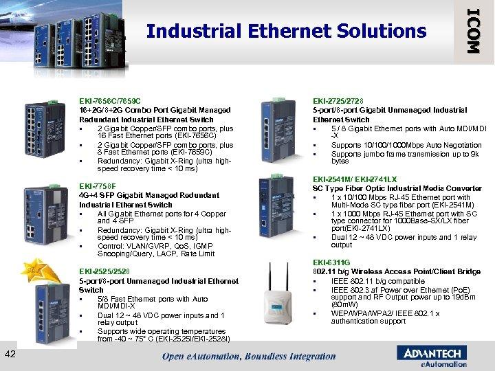 EKI-7656 C/7659 C 16+2 G/8+2 G Combo Port Gigabit Managed Redundant Industrial Ethernet Switch