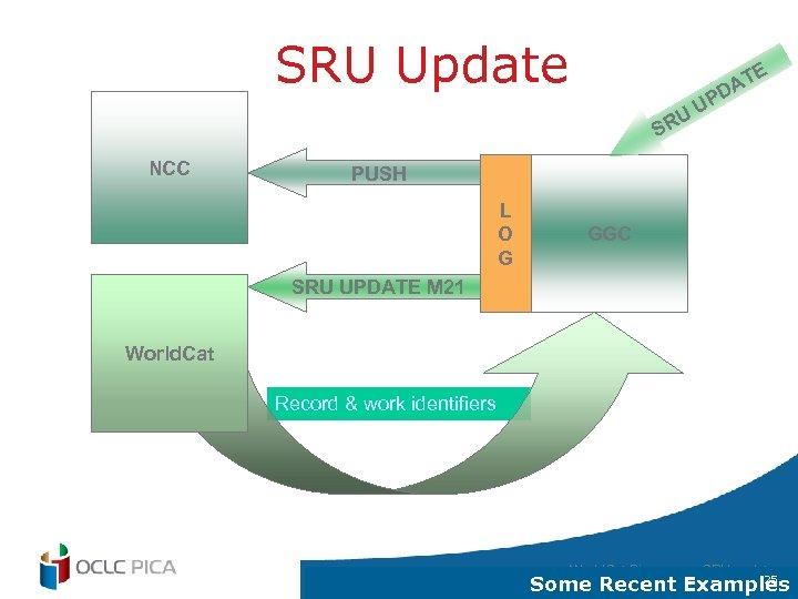 SRU Update E UU R T DA P S NCC PUSH L O G