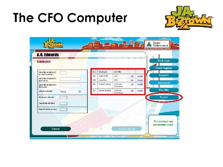 The CFO Computer