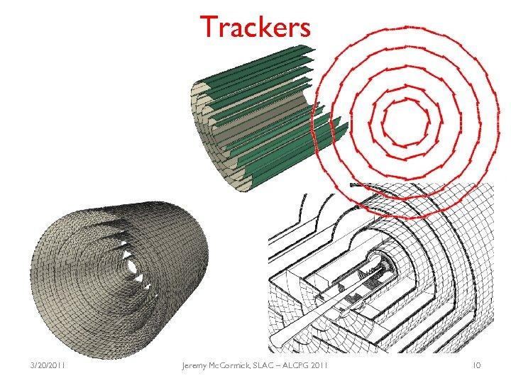 Trackers 3/20/2011 Jeremy Mc. Cormick, SLAC – ALCPG 2011 10