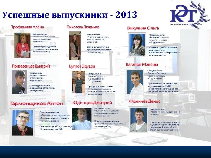 Успешные выпускники - 2013 Портрет эффективного волонтера 22 Федеральное агентство по делам молодежи, 2009