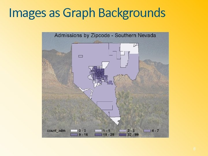 Images as Graph Backgrounds 8