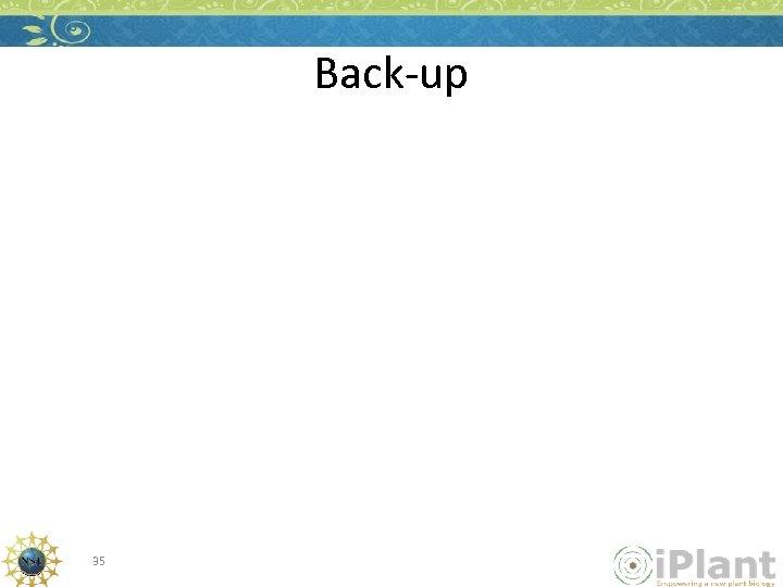 Back-up 35