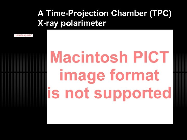 A Time-Projection Chamber (TPC) X-ray polarimeter
