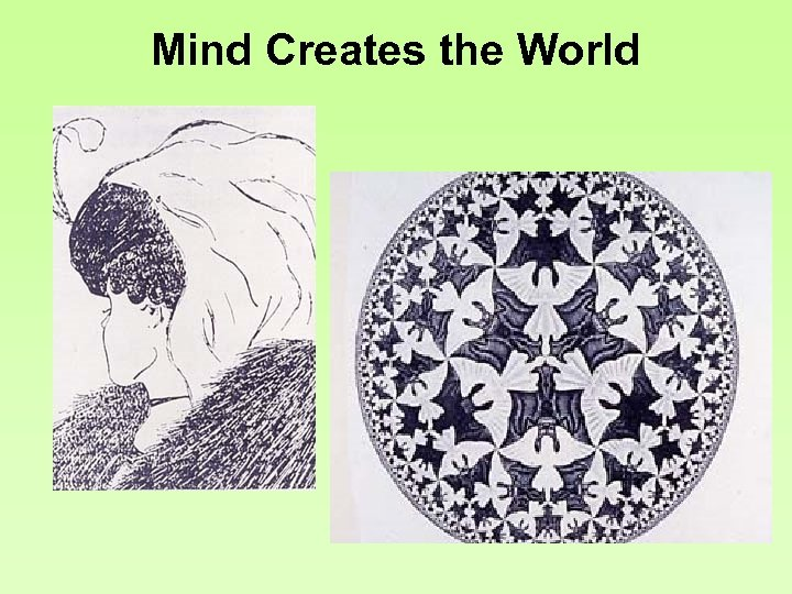 Mind Creates the World