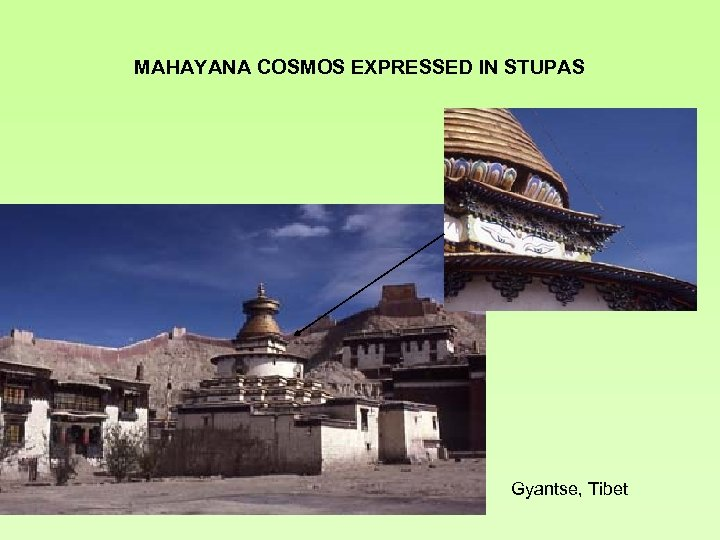 MAHAYANA COSMOS EXPRESSED IN STUPAS Gyantse, Tibet