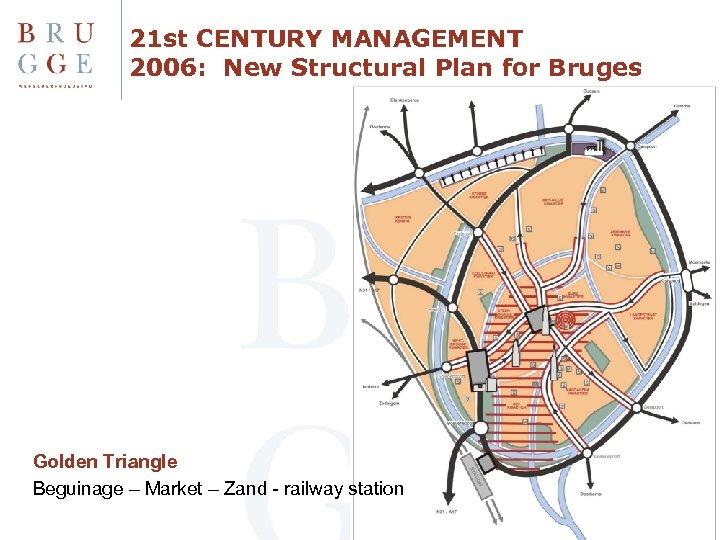21 st CENTURY MANAGEMENT 2006: New Structural Plan for Bruges Golden Triangle Beguinage –