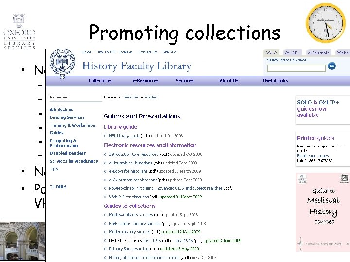 Promoting collections • New resource: Documents on British Policy Overseas – – – Write