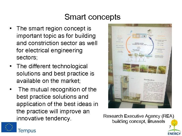Smart concepts • The smart region concept is important topic as for building and