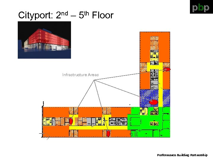 Cityport: 2 nd – 5 th Floor pbp Infrastructure Areas Performance Building Partnership