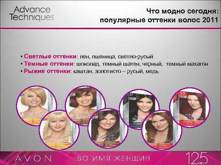 Что модно сегодня: популярные оттенки волос 2011 • Светлые оттенки: лен, пшеница, светло-русый •