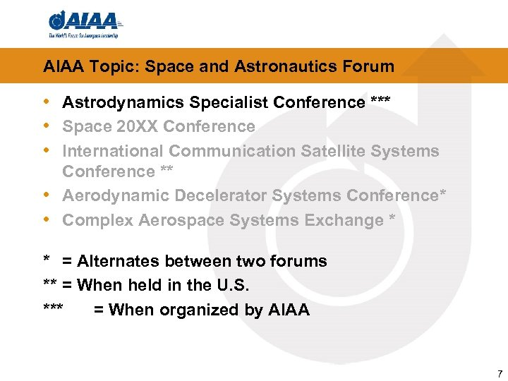 AIAA Topic: Space and Astronautics Forum • Astrodynamics Specialist Conference *** • Space 20