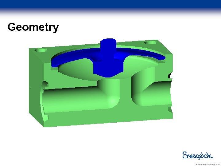 Geometry © Swagelok Company, 2002