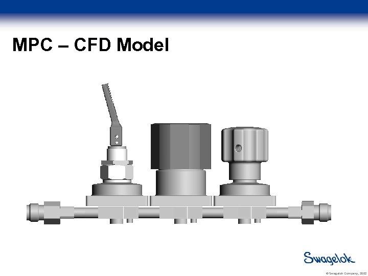 MPC – CFD Model © Swagelok Company, 2002