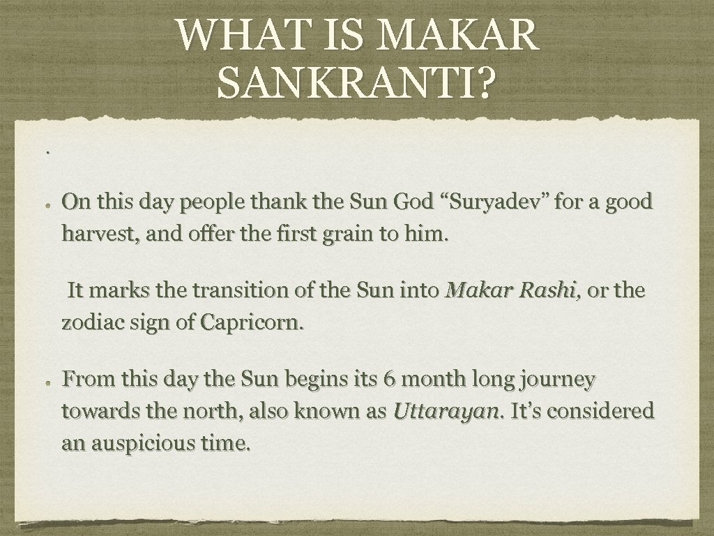 """WHAT IS MAKAR SANKRANTI? . On this day people thank the Sun God """"Suryadev"""""""
