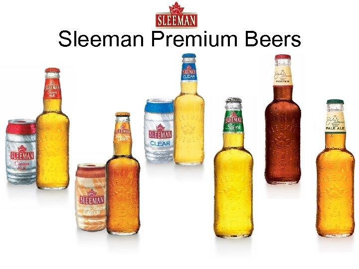 Sleeman Premium Beers